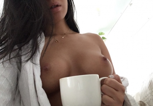 Morning coffee with Asa-