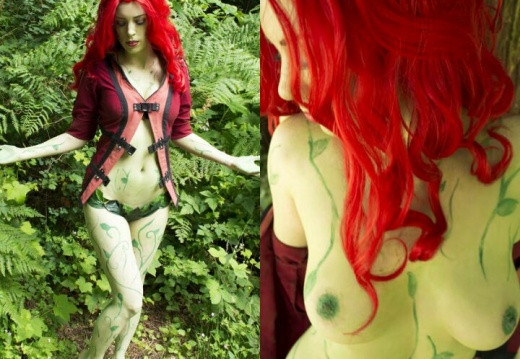 Essi from CosplayDeviants as Poison Ivy-eSFEWhw