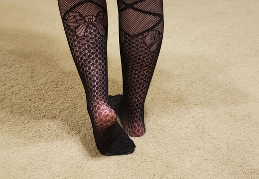 Foot porn Just got some new fishnets... let me know if you like them   DM S open-2xg8ly2fl7531