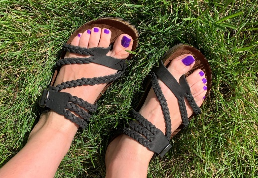 Foot porn New birks for my new toes  -yhducrstlx431